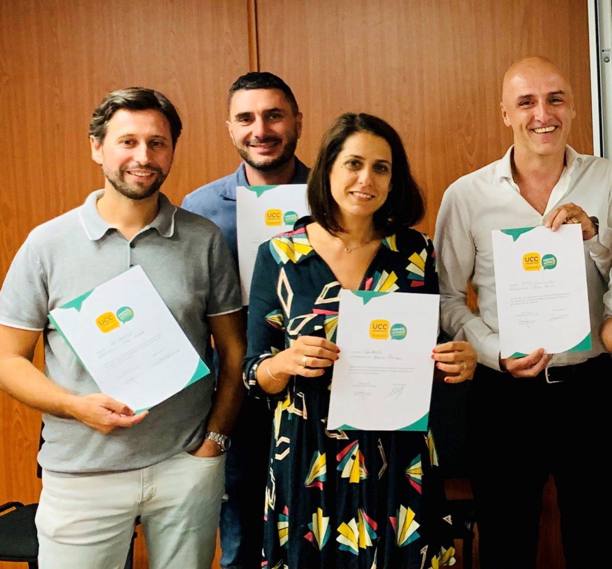 Signature Charte bonnes pratiques UCC Grand Sud